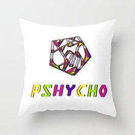 pshycho Throw Pillow