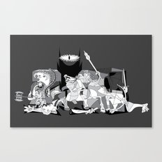 Picture of the Rings Canvas Print