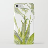 palms iPhone & iPod Cases featuring Palms by K.K. Designs