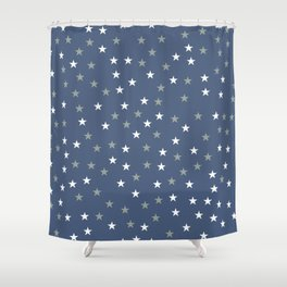 Stars Pattern 5 Shower Curtain