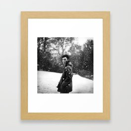 lion and the lamb Framed Art Print