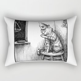 The Dunce Rectangular Pillow