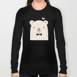 Kawaii Cute Polar Bear Long Sleeve T-shirt