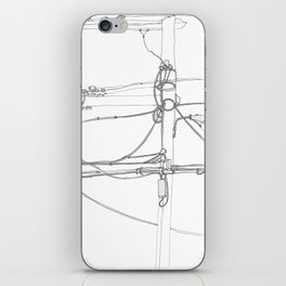 Lamp Post iPhone Skin