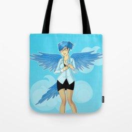 Twitter Mascot Tote Bag