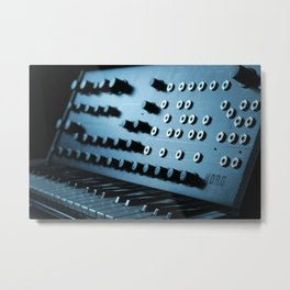 Korg Legacy Collection Ms-20  Metal Print