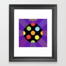 DISCOBALL Framed Art Print
