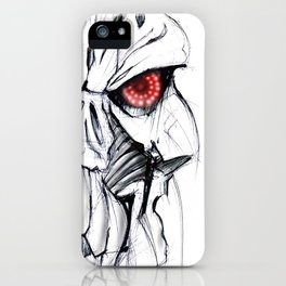 Futuristic Cyborg 7 iPhone Case