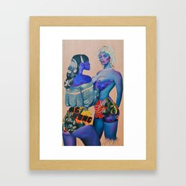 King Kong Framed Art Print