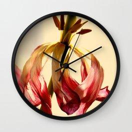 BALLERINA TULIPS - 2 Wall Clock