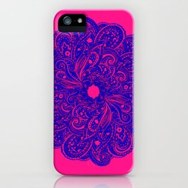 paisley play iPhone Case