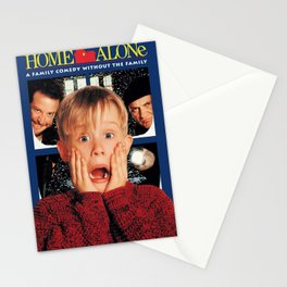 Home Alone Poster Stationery Cards