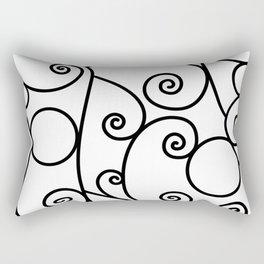 Parisian Scroll Rectangular Pillow