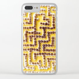 Mini [Toasted] Marshmallow Maze Clear iPhone Case