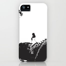 LET ME RIDE YOUR DINOSAUR  iPhone Case