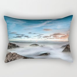 Above the mountines Rectangular Pillow