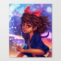 kiki Canvas Prints featuring Kiki by RSArts