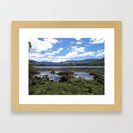 Lake Hayes Framed Art Print