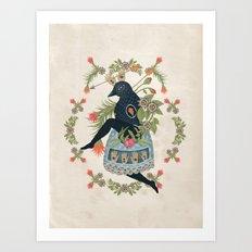 Bird Dance Art Print