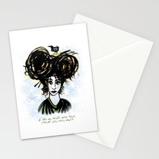 Bird's Nest Hair Stationery Cards