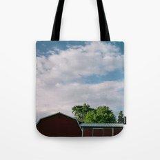 Farm Country Sky // California Tote Bag