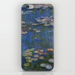 WATER LILIES - CLAUDE MONET iPhone Skin