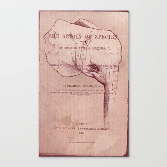 Origin of Species Canvas Print
