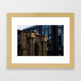 Old Union Station - Columbus Framed Art Print
