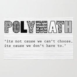 polymath have choices Rug