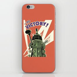 Daleks To Victory - Doctor Who iPhone Skin