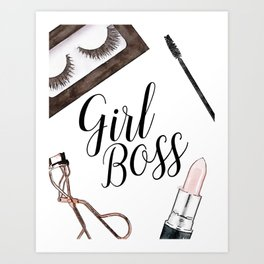 Beauty Room Girly Gift Make Up Quote Girly Prints Makeup Lover Instant Download Motivational Quote Wake Up And Make Up Bedroom Art