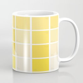 paintchips yellow Coffee Mug