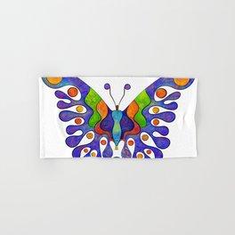 Elenissina - colourful butterfly Hand & Bath Towel