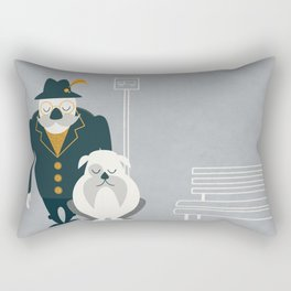 Mr. Mustachio Rectangular Pillow