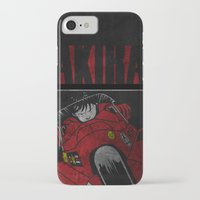 akira iPhone & iPod Cases featuring AKIRA by Zorio