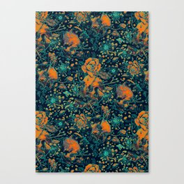 Life and Death Pattern Canvas Print