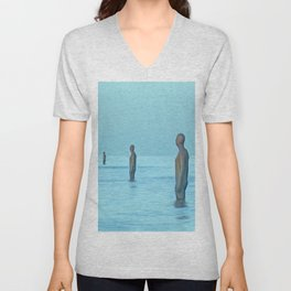 Three Gormley Iron Men Unisex V-Neck