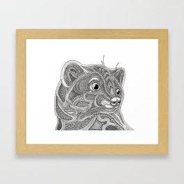 Marten Framed Art Print