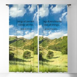 Energy And Persistence Conquer All Things Blackout Curtain
