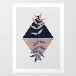 Geometry and Nature 3 Art Print