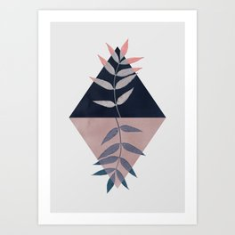 Geometry and Nature 3 Art Print