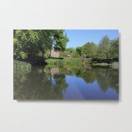 The Lower Pond Lumsdale Metal Print