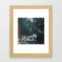 concrete jungle Framed Art Print