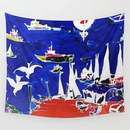 The Marina, Southport, Qld. AUSTRALIA Wall Tapestry