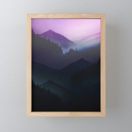 Far Away Land Framed Mini Art Print