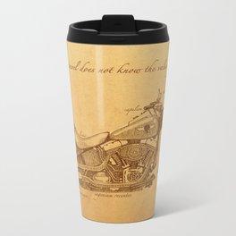 Travel Plan Metal Travel Mug