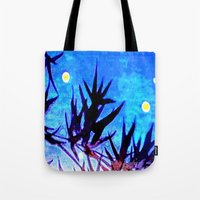 firefly Tote Bags featuring Firefly by Puttha Rayan Ali