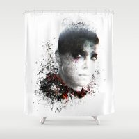 mad max Shower Curtains featuring Mad Max Furiosa by ururuty