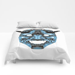 Hannya - low poly Comforters