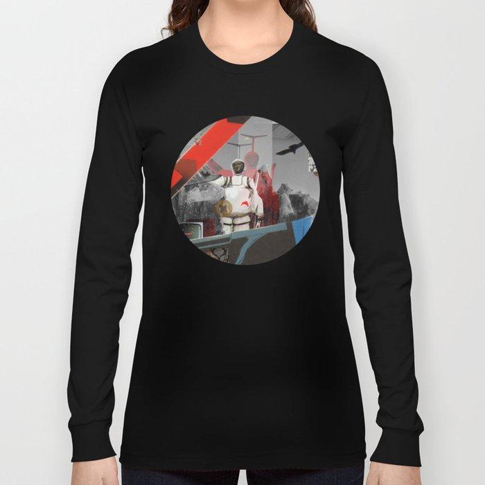 Essence Of Life · Zwischenwelten · Transfer & Dream · Crop Circle Detail 3 Long Sleeve T-shirt